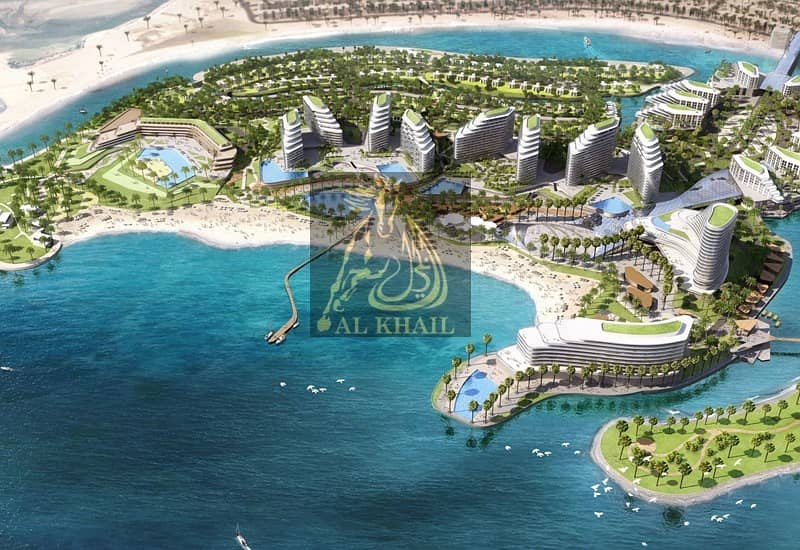 10 2-Bedroom Apartments for sale in Mina Al Arab | Full Sea and Yacht view