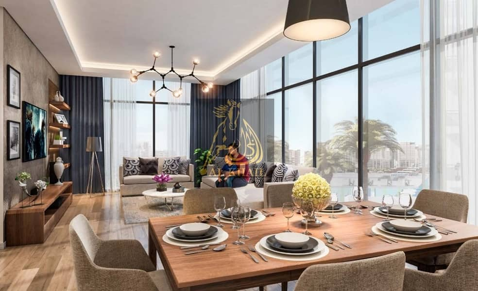 12 3-BR Luxury Apartment for sale in Meydan | Guarranted 8% ROI for 3-years | Dubai Canal Views