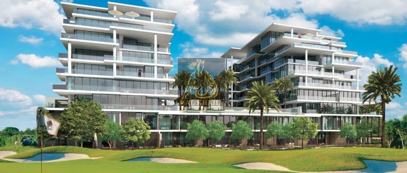 9 2-Bedrooms Hotel Apartment for sale in DAMAC Hills | Ready to Move | Golf Course View!
