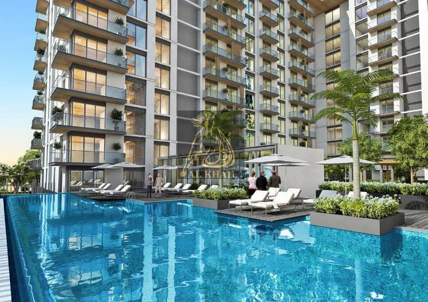 Studio Apartment in Sobha Hartland - Dubai Canal Views - Only 10% Booking Fee