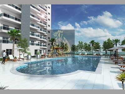 فلیٹ 1 غرفة نوم للبيع في قرية جميرا الدائرية، دبي - Only 5% Booking Fee | Invest Luxury 1BR + Study Apartment for sale in JVC | With 3 Years Post Handover