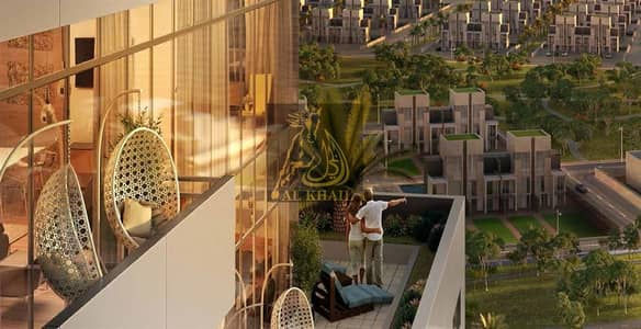 1 Bedroom Apartment for Sale in Downtown Jebel Ali, Dubai - Only 1% Booking Fee!  50/50 Payment Plan  1BR Luxury Apartment in Downtown Jebel Ali