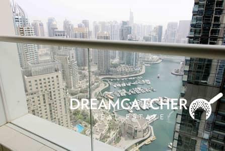 3 Bedroom Apartment for Sale in Dubai Marina, Dubai - 3 beds full marina view in Marina Heights