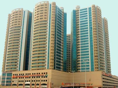 Office for Rent in Ajman Downtown, Ajman - OFFICE BIG SIZE IN HORIZON TOWERS