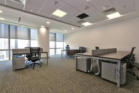 Office for Rent in DIFC, Dubai - 648sq.ft. Fully Furnished Offices in Emirates Financial Towers