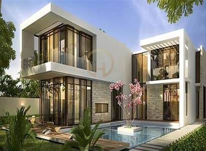 4 Bedroom Villa for Sale in DAMAC Hills (Akoya by DAMAC), Dubai - Villas 4BR Furnished Semi Detached  villa