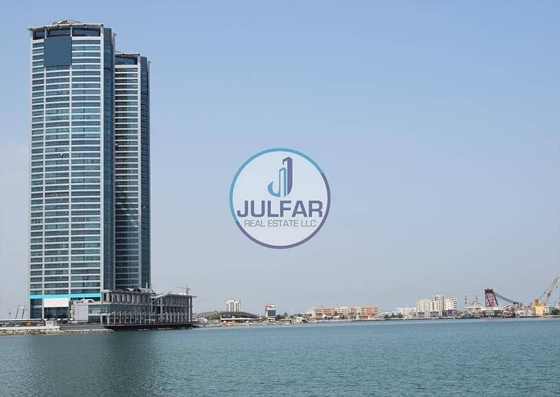 1 Furnished Sea View Office for SALE in Julphar Tower