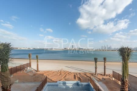 فیلا 5 غرفة نوم للبيع في نخلة جميرا، دبي - Royal Villa on the Beach | Balqis Palm
