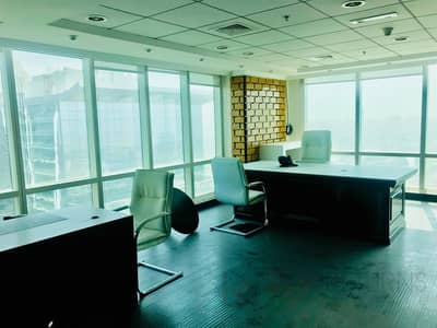 Office for Sale in Jumeirah Lake Towers (JLT), Dubai - Fully Fitted Partitioned Panoramic View [KH]