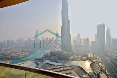 3 BEDROOMS | FURNISHED | BURJ AND FOUNTAIN VIEWS