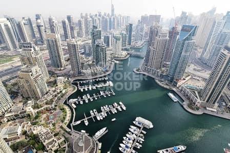 4 Bedroom Penthouse for Sale in Dubai Marina, Dubai - DUPLEX 4 BR Penthouse|Full Marina View |