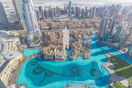 2 Bedroom Apartment for Rent in Downtown Dubai, Dubai - 2BR Spectacular Views   High Floor Level