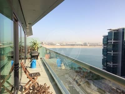 2 Bedroom Apartment for Rent in Al Raha Beach, Abu Dhabi - Exclusive! High floor!! Available March
