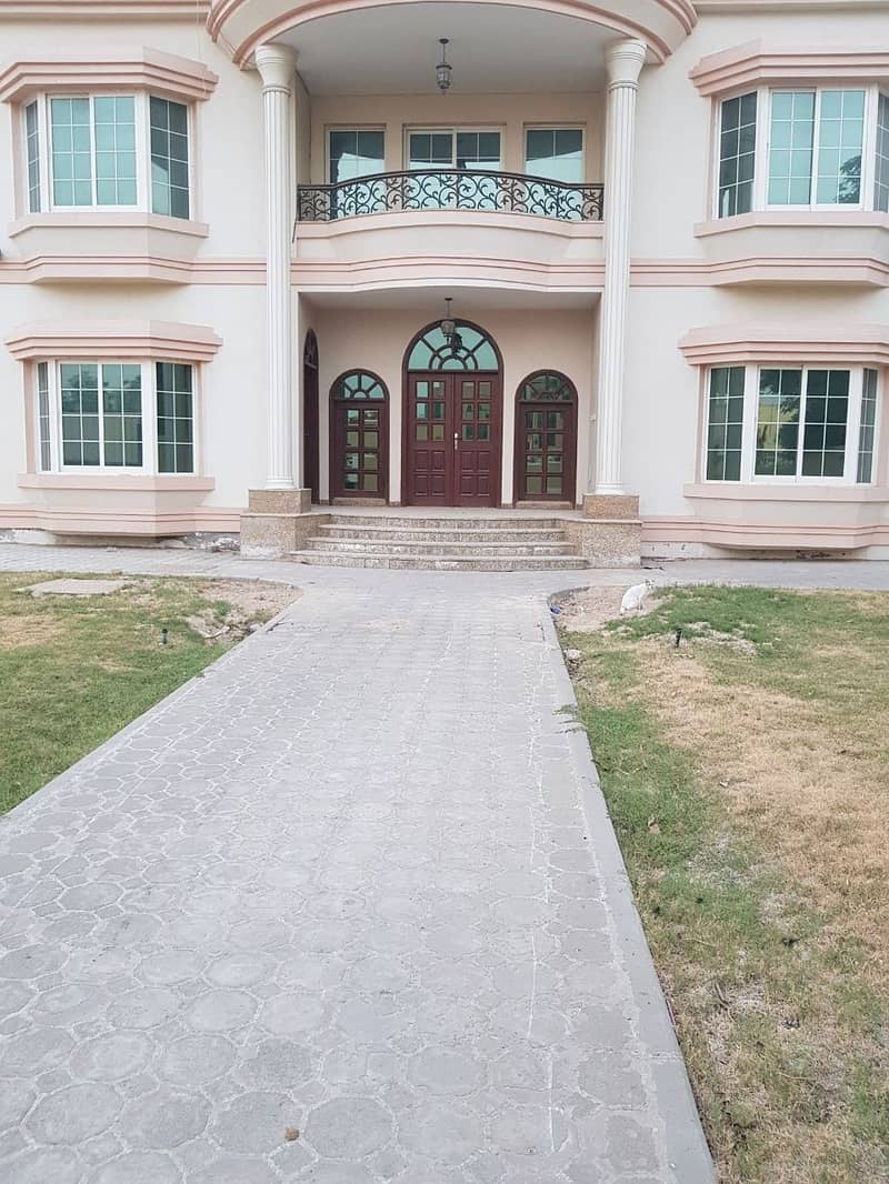 2 A very huge  5 Masters BR Villa available with beautiful garden located at Nadd Al Hammar