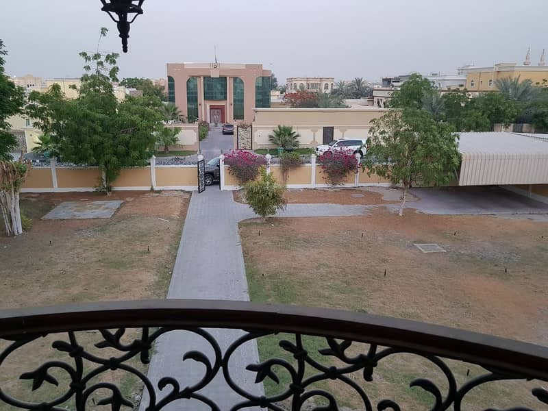 3 A very huge  5 Masters BR Villa available with beautiful garden located at Nadd Al Hammar