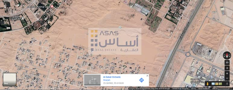 Plot for Sale in Al Zubair, Sharjah - Basatien Al Zubair for Plot are in Sale