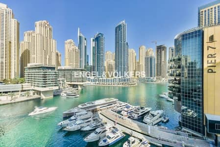 1 Bedroom Flat for Sale in Dubai Marina, Dubai - Full Marina view| Vacant| Fully Furnished