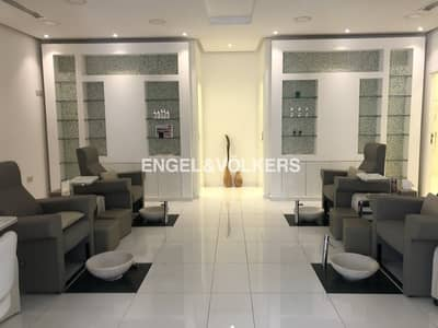 Shop for Rent in Jumeirah Village Circle (JVC), Dubai - Fully fitted retail | On Main road | JVC
