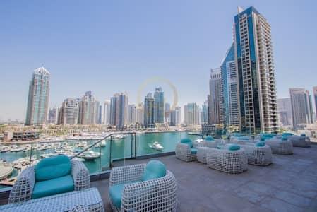 2 Bedroom Apartment for Sale in Dubai Marina, Dubai - Full Sea View in Cayan Tower Dubai Marina