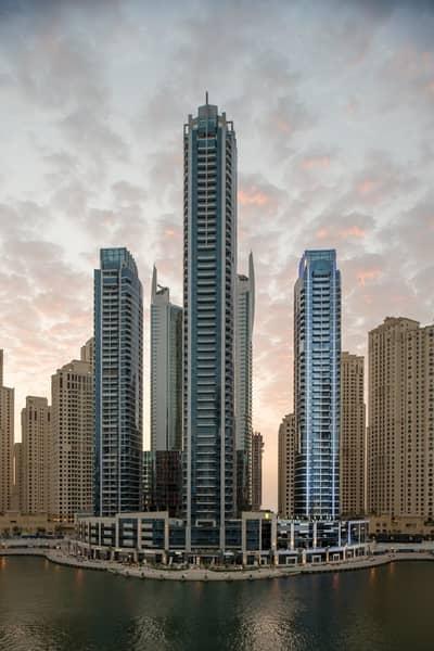 3 Bedroom Hotel Apartment for Rent in Dubai Marina, Dubai - 3 Bedroom Apartment - Full Marina View - InterContinental Dubai Marina