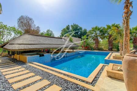 6 Bedroom Villa for Rent in The Lakes, Dubai - Exclusive - Vastu - Furnished Golf Facing