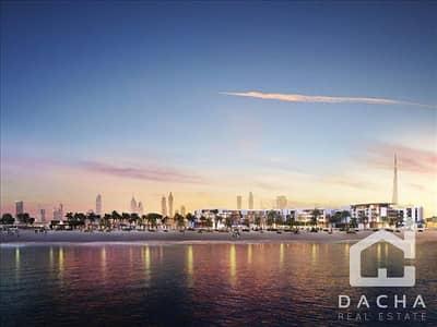 فلیٹ 1 غرفة نوم للبيع في لؤلؤة جميرا، دبي - Nikki Beach Exclusive 1 Br garden apt for sale
