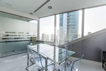 Office for Sale in Jumeirah Lake Towers (JLT), Dubai - Fitted With Partitions | Corner | High Flr