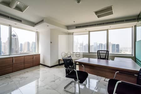 Office for Sale in Jumeirah Lake Towers (JLT), Dubai - Tenanted and Fitted | Mid Floor | DMCC