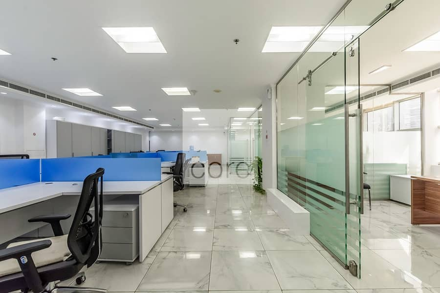 2 Tenanted and Fitted | Mid Floor | DMCC