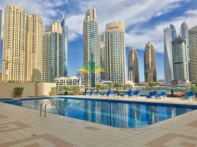 2 Bedroom Flat for Rent in Dubai Marina, Dubai - Marina View | Furnished 2 BR + Balcony