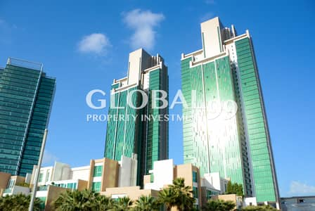 4 Bedroom Flat for Rent in Al Reem Island, Abu Dhabi - Vacant!High-floor 4+M in MAG 5 for rent!