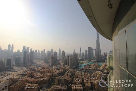 2 Bedroom Apartment for Rent in Downtown Dubai, Dubai - Two Bed | Furnished | Burj Khalifa View