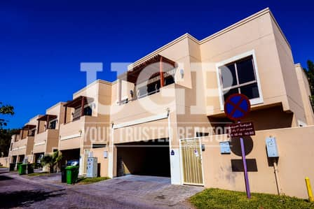 4 Bedroom Villa for Sale in Al Raha Gardens, Abu Dhabi - Prime Loc. 4BR Villa with Private Garden
