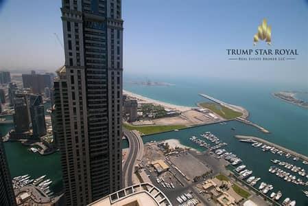 3 Bedroom Penthouse for Sale in Dubai Marina, Dubai - Sea and Marina View 3Bedroom Penthouse in Dubai Marina