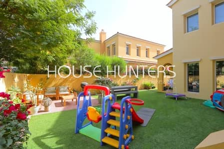 3 Bedroom Villa for Sale in Arabian Ranches, Dubai - Exclusive Type A|Opposite Park & Pool