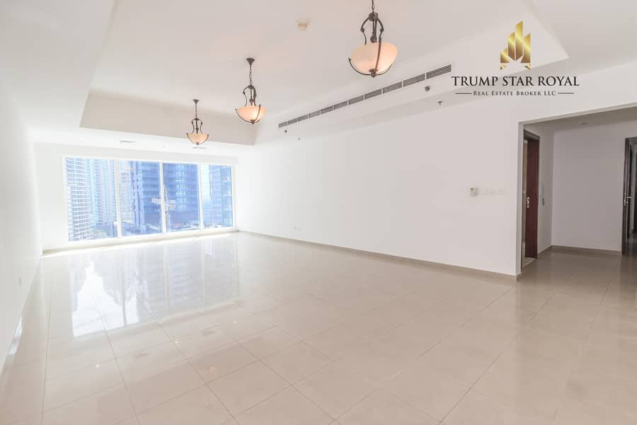Vacant 2Br in Emirates Crown Tower