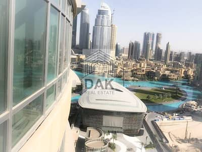 1 Bedroom Apartment for Rent in Downtown Dubai, Dubai - 1 BR | Opera  and Fountain View | Vacant