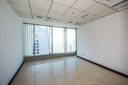 Office for Rent in Jumeirah Lake Towers (JLT), Dubai - Fitted and Partitioned Office | Storage