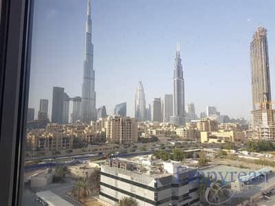 2 Bedroom Apartment for Rent in Downtown Dubai, Dubai - Fully Burj Khalifa Views | 2 Bed | 3 Bath  | Parquet Floor| Large Size
