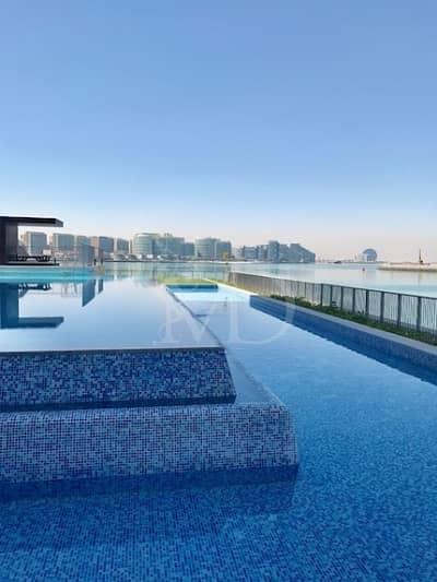 5 Bedroom Villa for Rent in Al Raha Beach, Abu Dhabi - Experience the luxury of having a  pool.