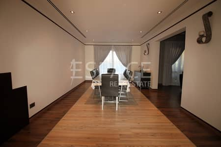 5 Bedroom Villa for Rent in The Meadows, Dubai - Private Pool - Lake View - Fully Upgraded