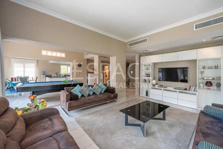 5 Bedroom Villa for Rent in The Meadows, Dubai - Upgraded + Furnished - Private Pool
