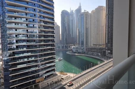 شقة 2 غرفة نوم للبيع في دبي مارينا، دبي - Upgraded 2 br for sale Marina View Tower