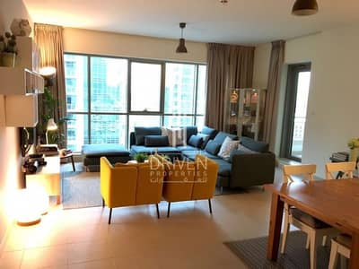 2 Bedroom Flat for Rent in Downtown Dubai, Dubai - Charming Furnished 2BR | Spacious layout
