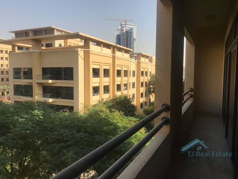 Partial Pool and Garden View | Largest 1 Bedroom | Rented