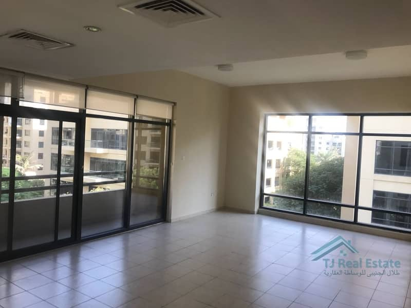2 Partial Pool and Garden View | Largest 1 Bedroom | Rented