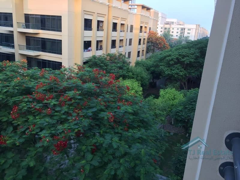 23 Partial Pool and Garden View | Largest 1 Bedroom | Rented