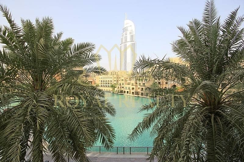 Burj & Fountain View | 2BR |Tenanted |