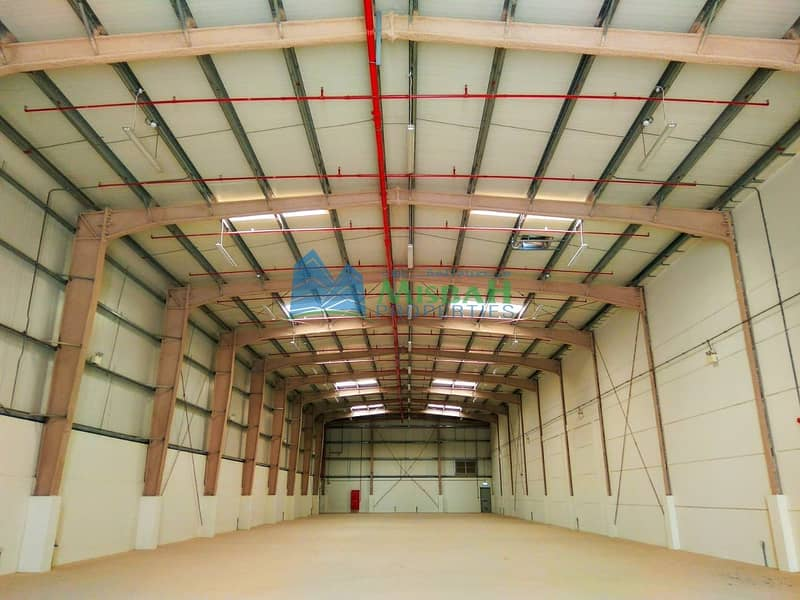 LOW RENT..! TAX FREE..!! Top Quality Multi purpose Warehouses for Storage/ Commercial/ Industrial Use