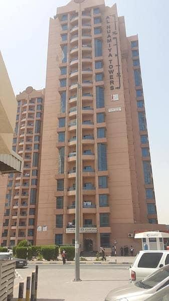 1 Bedroom Apartment for Sale in Al Nuaimiya, Ajman - FOR SALE 1BHK WITH 2BATH IN AL NUIAMYEA TOWER  AJMAN EMPTY